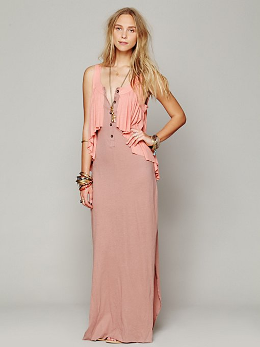 Free People Anita Dress in Beach-Dresses