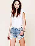 Eyelet Pocket Cutoffs