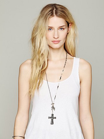 Free People Charmed Lariot Pendant