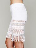 Crochet Fringe Short