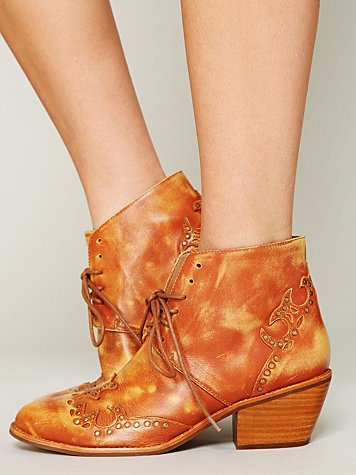 Jeffrey Campbell + Free People Bowery Ankle Boot