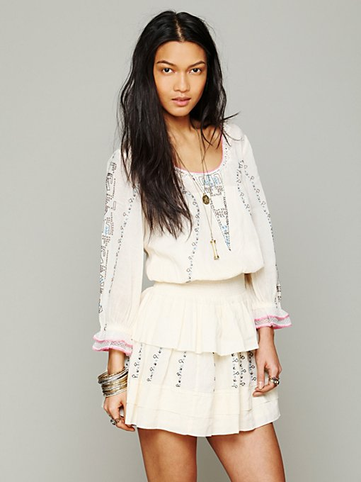 Free People Victorian Embroidered Dress in lace-dresses