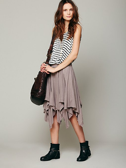 Free People Swing High Skirt in maxi-dresses