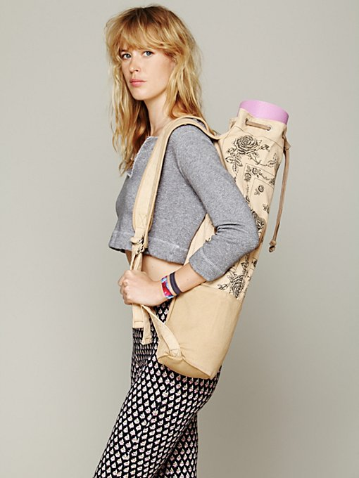 Free People Cobra Yoga Bag in backpacks