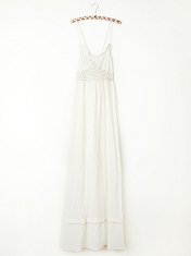 Smocked Gauze Sleep Dress in fp-body