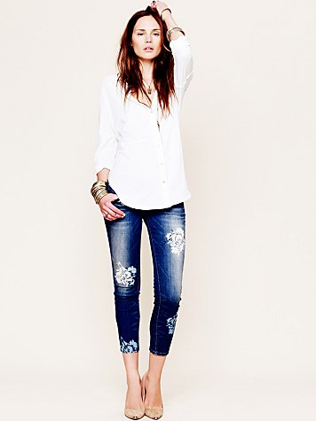 Free People Magnolia Ankle Skinny
