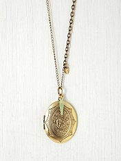 Large Locket Pendant