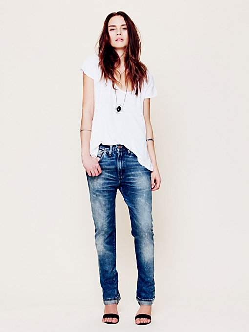 Levis 1954 Boyfriend Jean in denim