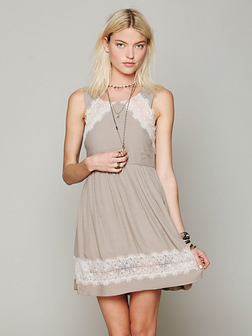 Georgia Lace Dress in clothes-dresses-fit-n-flare