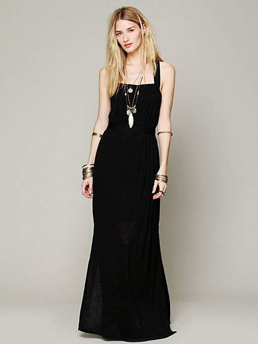 Listen To Your Heart Maxi in black-maxi-dresses