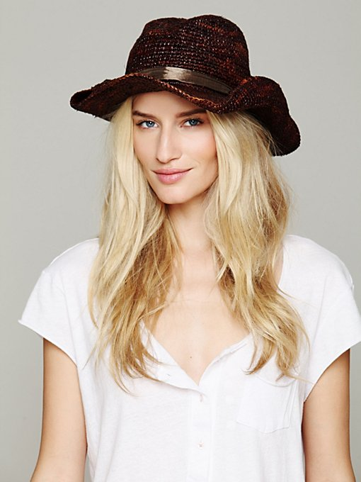 Austin Straw Cowboy Hat in accessories-hats-fedoras-caps