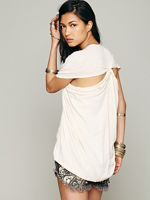Free People We The Free Mins Drapey Tank in Oversized-Tees