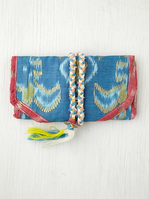 Ikat Jewelry Roll in accessories-bags-shop-by-shape
