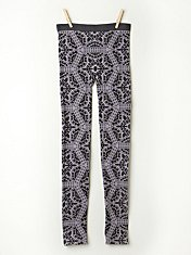 Floral Intarsia Legging in fp-body