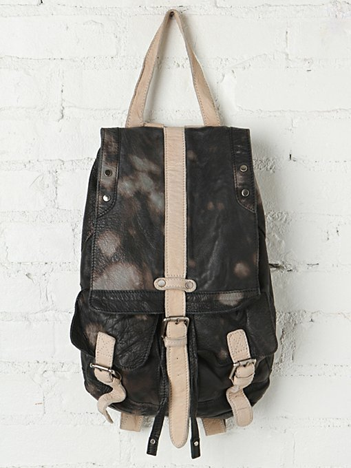 Free People Downtown Leather Backpack in backpacks