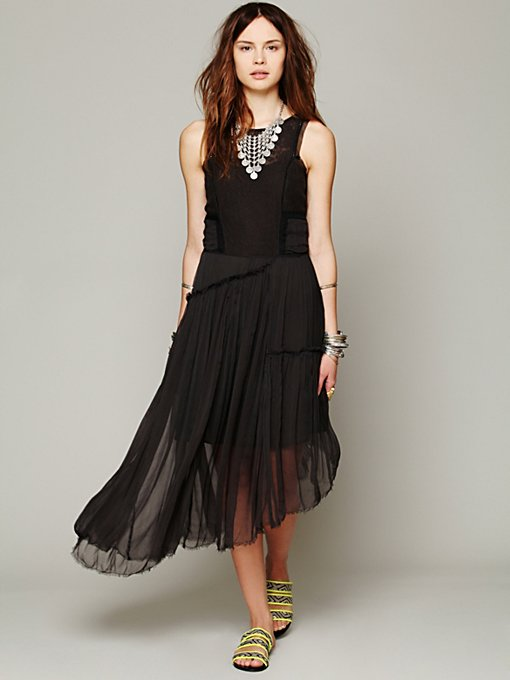 Free People Bewitching Dress in lace-skirts