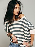 We The Free Billie Jean Striped Tee