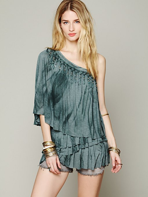Free People Aquarius Rising Top in tunic-sweaters