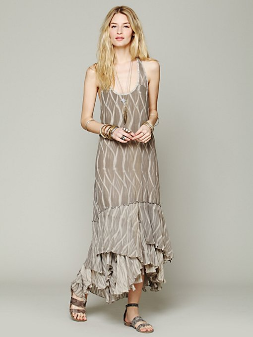 Free People Dream Weaver Maxi in Chiffon-Dresses