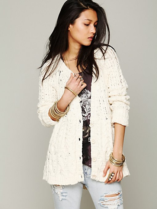 Cable Cardigan in cardigans-jackets