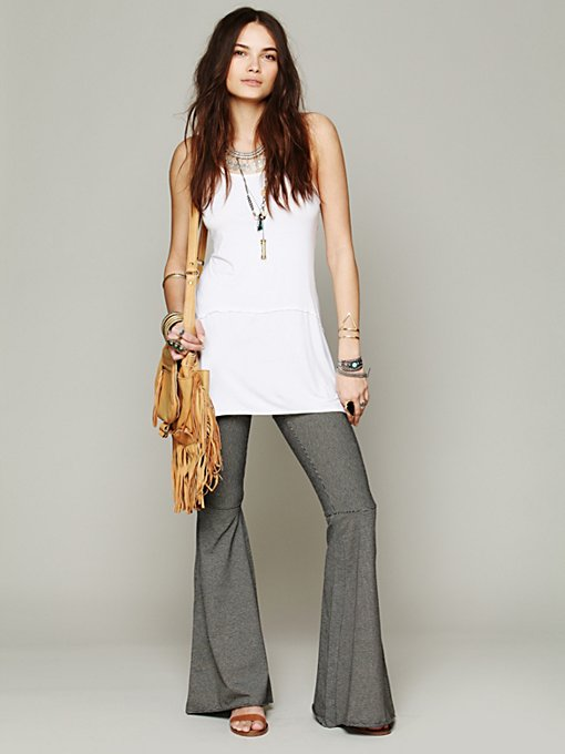 Free People Bille Jean Pant in crochet-leggings