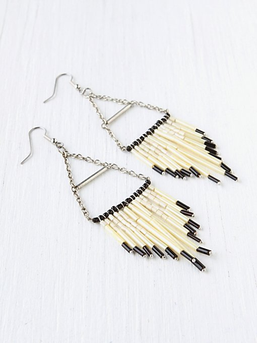 Fringe Earring in earrings