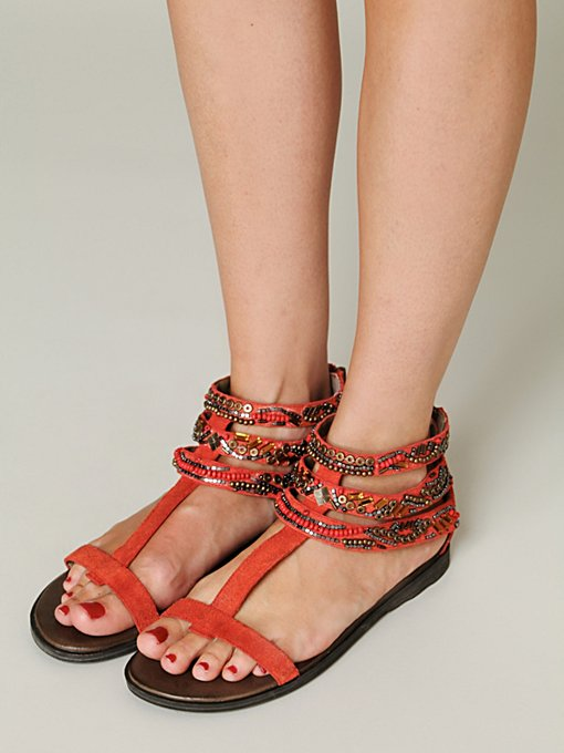 Sahara Beaded Sandal