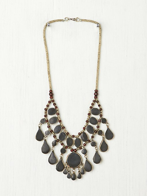 Large Stone Layering Collar in accessories-jewelry