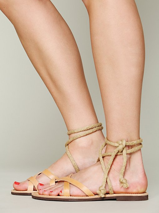 Adelaide Wrap Sandal in sale-all-sale
