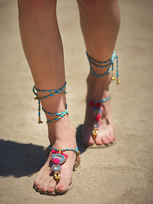 Calcutta Wrap Sandal in shoes-sandals