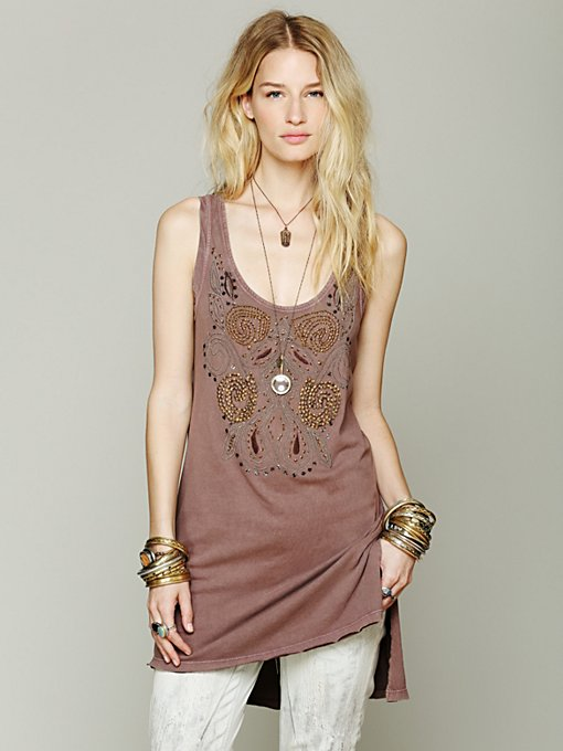 Free People Faded Glory Tank in Party-Tops