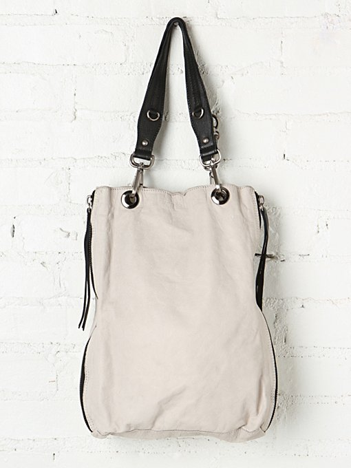 Free People Essex Leather Tote in tote-bags
