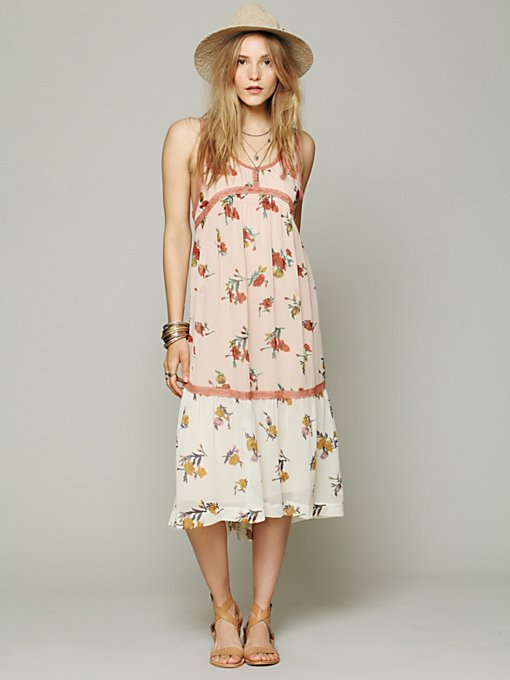 Free People FP New Romantics Rock A Bye Dress in white-maxi-dresses