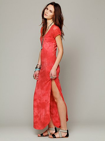 Free People Maxi Lace Dress