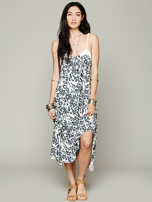 Free People FP New Romantics Echo Me Floral Dress in Beach-Dresses