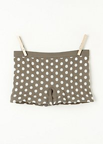 Dot Print Boyshort in Intimates-lingerie-undies