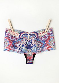 Feathered Paisley Undie in Intimates-lingerie-undies