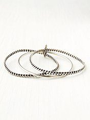 Chain Stack Bracelet Set