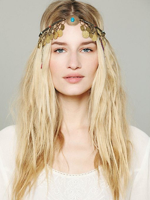 Embellished Coin Headpiece in features-shop-by-girl-meadow