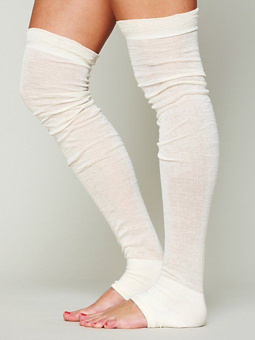 Sheer Thigh Hi Legwarmer in accessories-legwear-tall-socks