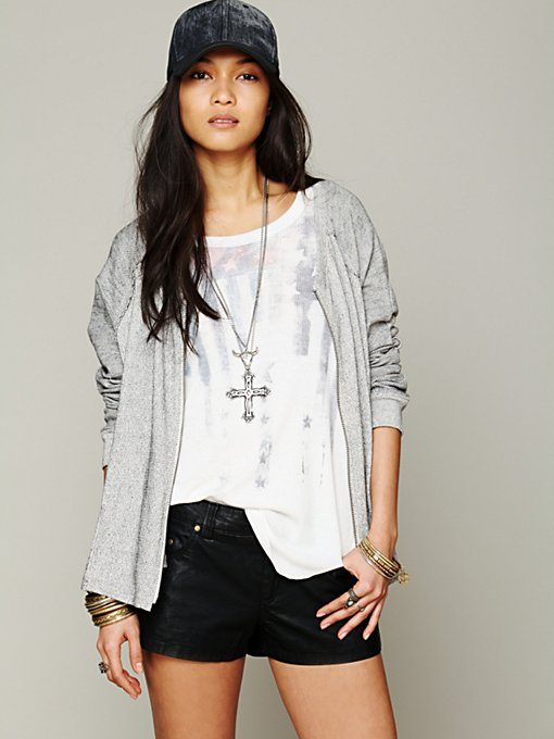 Free People Swing Zip in cardigan-sweaters