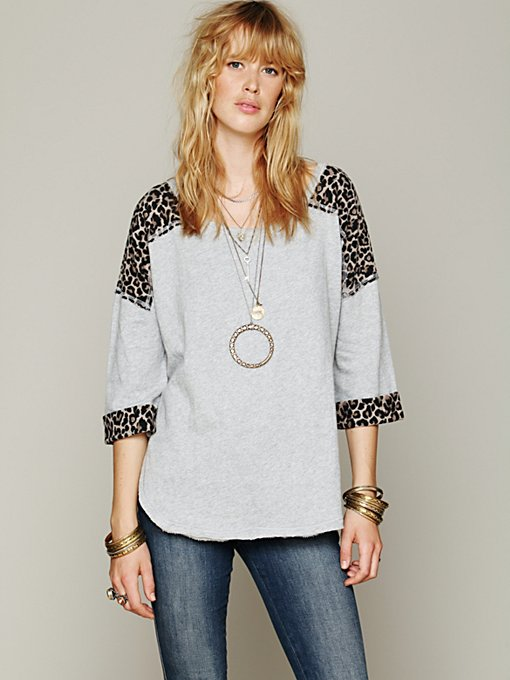 Free People Kitty Cat Pullover in Sweaters