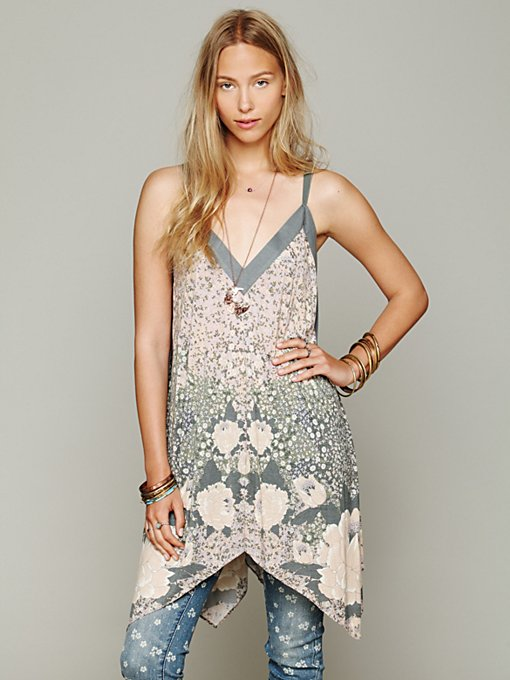 Free People Toulouse Tunic in Party-Tops