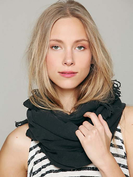 Solid Jersey Loop Scarf in accessories-scarves-ponchos