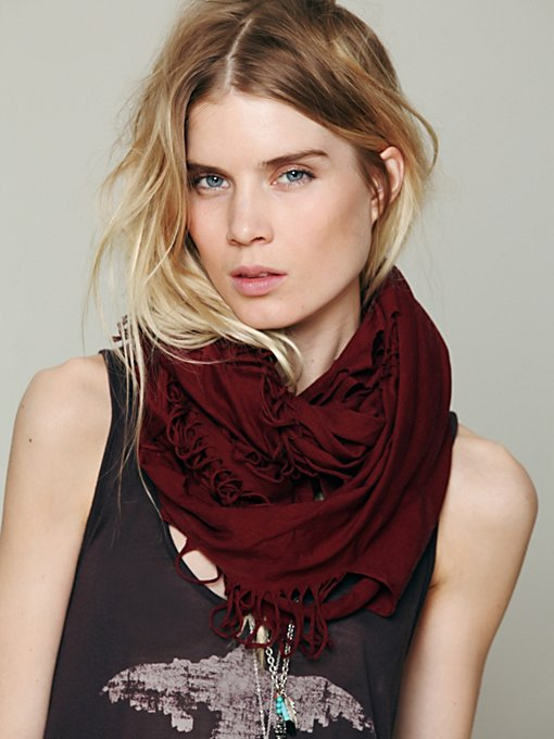 Solid Jersey Loop Scarf in whats-new-accessories