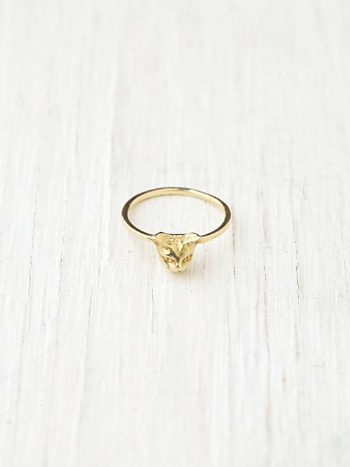 Verameat Cheshire Kitty Ring in jewelry