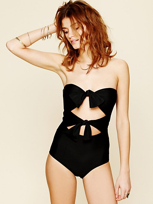 Tie Front One Piece in swim-swim-all-swim