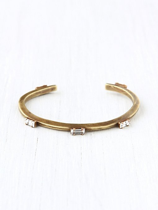 BING BANG Five Baguette Cuff in bracelets