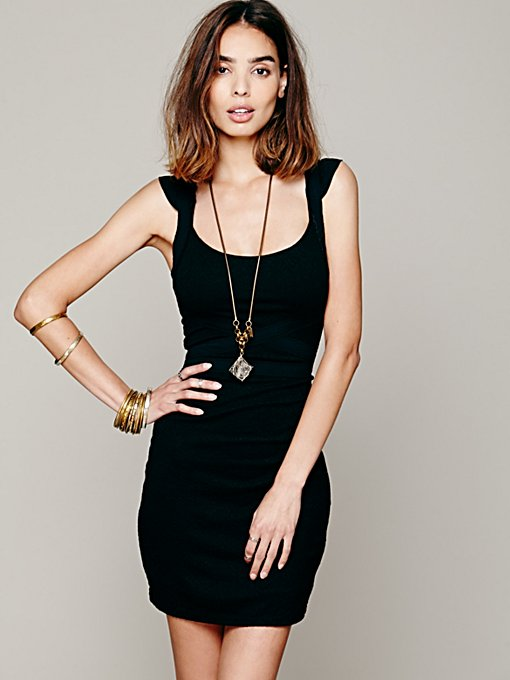 Free People Cross My Heart Bodycon in Evening-Dresses