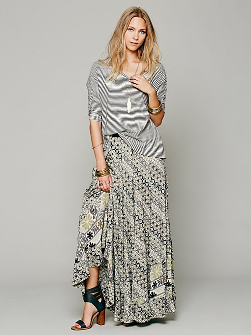 Free People FP ONE Banjara Print Maxi in white-maxi-dresses